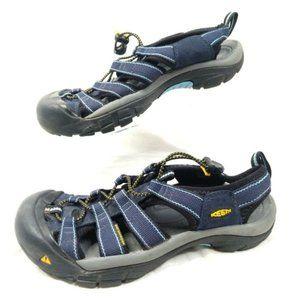 Keen Newport Sandals Womens 8.5 Blue Water Shoes